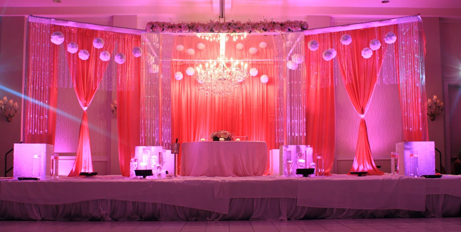 decorations reception for simple stage decor anniversary wedding g